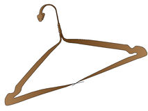 Вешалка одежд - змейка Стоковые Фотографии RF