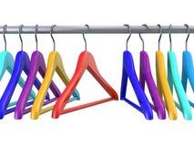 Вешалки одежд Стоковое фото RF