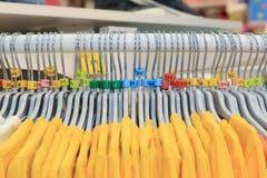 Вешалки одежд Стоковые Изображения RF