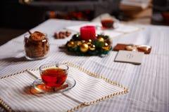 Вещество рождества съемка сделанная с глубиной поля shalow селективно Стоковые Фото