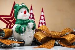 Вещество рождества с светлой предпосылкой Стоковые Изображения RF