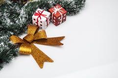 Вещество рождества с светлой предпосылкой Стоковое Изображение RF