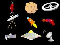 вещи космоса Стоковое Изображение