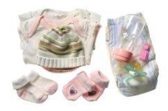вещи младенца Стоковое Фото