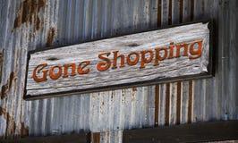 Веденный ходить по магазинам. Стоковые Фото