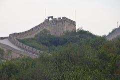 Великая Китайская Стена башни предохранителя Китая Стоковая Фотография RF