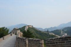 Великая Китайская Стена башни предохранителя Китая Стоковые Фото