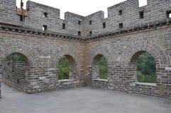 Великая Китайская Стена башни предохранителя Китая Стоковое Изображение RF