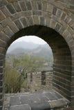 Великая Китайская Стена в Китае Стоковая Фотография RF