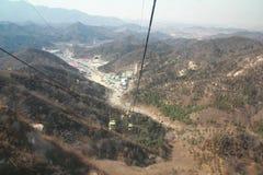 Великая Китайская Стена в Китае Стоковые Фото