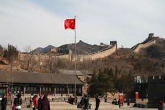Великая Китайская Стена в Китае Стоковое фото RF