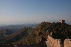 Великая Китайская Стена в Китае Стоковая Фотография