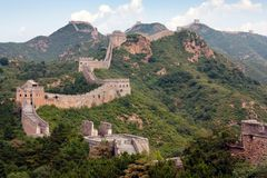 Великая Китайская Стена - Китай стоковая фотография rf