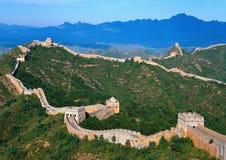 Великая Китайская Стена Китая Стоковые Изображения RF