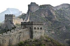 Великая Китайская Стена Китая Стоковые Фотографии RF