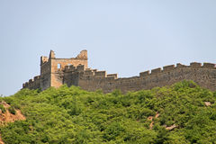 Великая Китайская Стена Китая - JinShanLing аккуратного Пекина, Китая Стоковая Фотография