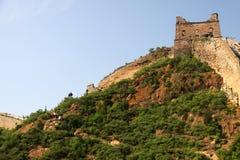 Великая Китайская Стена Китая - JinShanLing аккуратного Пекина, Китая Стоковые Изображения RF