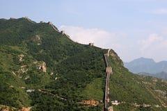 Великая Китайская Стена Китая - JinShanLing аккуратного Пекина, Китая стоковые фото