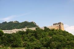 Великая Китайская Стена Китая - JinShanLing аккуратного Пекина, Китая стоковая фотография rf