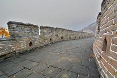 Великая Китайская Стена Китая Mutianyu Китай Стоковое Изображение RF