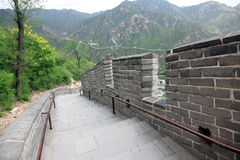 Великая Китайская Стена, Пекин, Китай Стоковые Фото