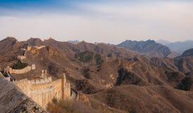Великая Китайская Стена фарфора в jinshanling Стоковое фото RF