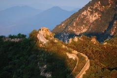 Великая Китайская Стена стоковые изображения rf