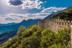 Великая Китайская Стена Стоковые Изображения