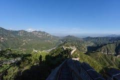 Великая Китайская Стена Стоковое фото RF