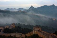 Великая Китайская Стена Jinshanling Стоковое Изображение
