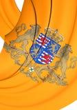 Великий князь стандарта Люксембурга Стоковые Фотографии RF