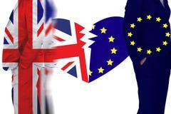 Великобритания из членства от Европейского союза Стоковое фото RF