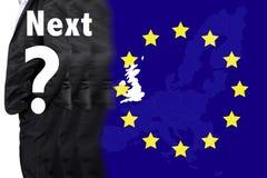Великобритания из членства от Европейского союза Стоковые Изображения