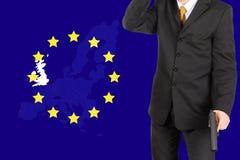 Великобритания из членства от Европейского союза Стоковое Изображение
