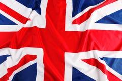 Великобритания, флаг британцев, Стоковое Фото