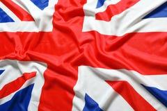 Великобритания, флаг British Стоковое Фото