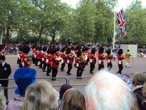 Великобританская свадьба Стоковое Фото