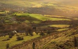 Великобританская сельская местность Стоковые Изображения RF