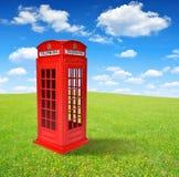 Великобританская телефонная будка Стоковое фото RF