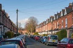 Великобританская улица стоковое изображение rf