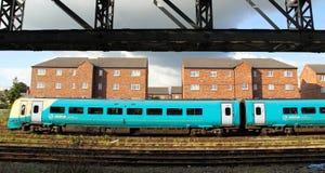 Великобританские железнодорожные вокзалы стоковые изображения rf