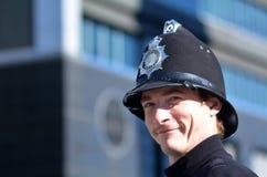 великобританские полиции офицера Стоковая Фотография