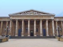 Великобританский музей Лондон Стоковые Изображения