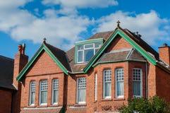 Великобританский дом Стоковая Фотография