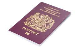 Великобританский пасспорт гражданина Стоковое Изображение