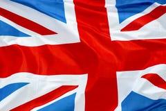 Великобританский флаг соединения Стоковая Фотография