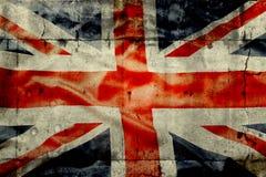 великобританский флаг Стоковые Изображения RF