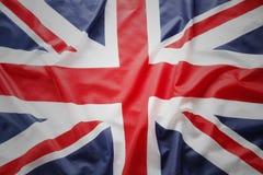 великобританский флаг Стоковая Фотография