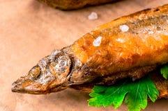 великобританское деревянное таблицы заедк рыб обломоков традиционное Стоковое Фото
