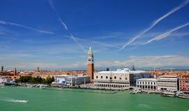 Великолепие Венеции от Адриатического моря Стоковое Изображение RF